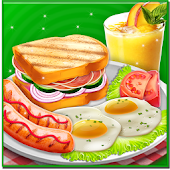 BreakFast Food Maker - Kitchen Cooking Mania Game