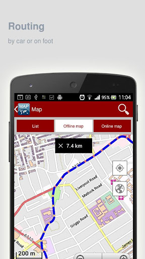 玩旅遊App|Kuching Map offline免費|APP試玩