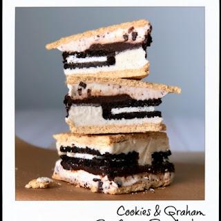 Cookies & Graham Ice Cream Sandwiches Recipe