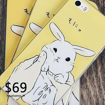 - 🎨日系小清新可愛卡通兔 (全包邊) 型號:Iphone5/5s-Iphone6-Iphone6plus 價錢:$69 (包郵) 🌼如有興趣,可DM/Whatsapp 5167 9483店主🐇。 #hkig #fashion #hkgirl #hkonlineshop #hkseller #hkstore #852shop #衫 #褲 #裙 #鞋 #袋 #飾物 #852 #外套 #女裝 #短裙 #短褲 #珍珠 #手機殼 #白兔 #iphonecase #case #phonecase #小丸子 #iphone6 #iphone5 #手機殼 #hkigshop