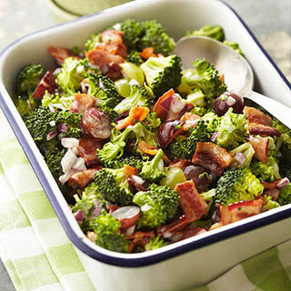 Broccoli Grape Salad.