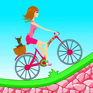 Biker Girl Hill Climb Cycling for PC and MAC