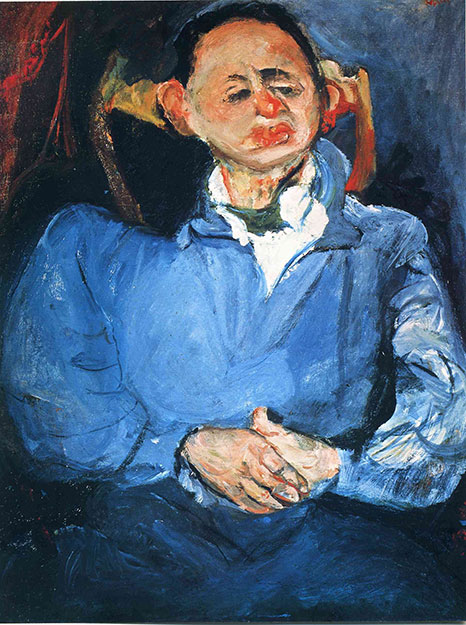 Хаим Сутин. Портрет скульптора Оскара Мещанинова.
