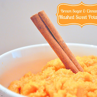 Easy Mashed Sweet Potatoes with Brown Sugar and Cinnamon Recipe