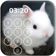Bunny Pin Lock Screen