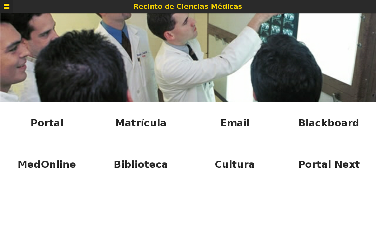 Recinto de Ciencias Médicas- screenshot