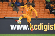 Lebogang Manyama of Kaizer Chiefs during the Absa Premiership match between Kaizer Chiefs and AmaZulu FC at FNB Stadium on September 22, 2018 in Johannesburg, South Africa.