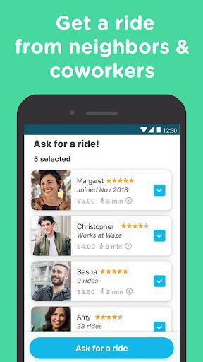 Waze Carpool - Ride together. Commute better. 2.17.5.0 screenshots 1