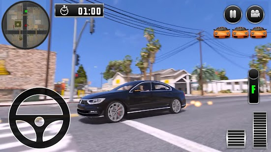 City Driving Volkswagen Car Simulator - náhled