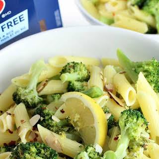 Garlic Lemon Broccoli Pasta.