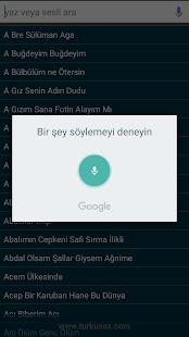 Türkü Söz ve Notaları - náhled
