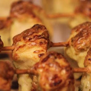 Methi Malai Murgh Kebab