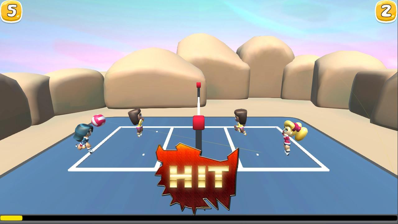 VolleyBall Match Smash- screenshot
