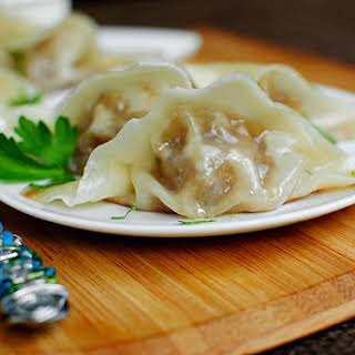 French onion Soup Potstickers.