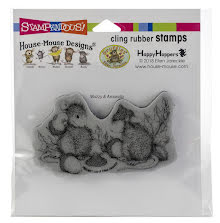 Stampendous House Mouse Cling Stamp - Acorn Cap