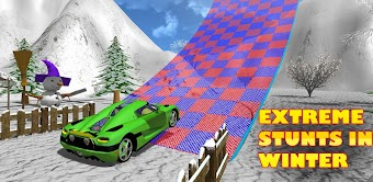 Extreme Stunts GT Racing Car