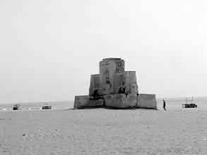 Photo: Karl Schmidt monument - Besant nagar beach