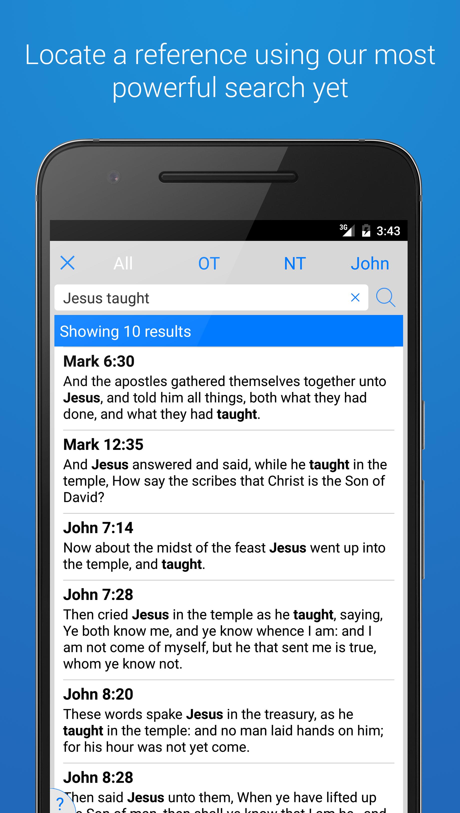 The Holy Bible - King James screenshot #3