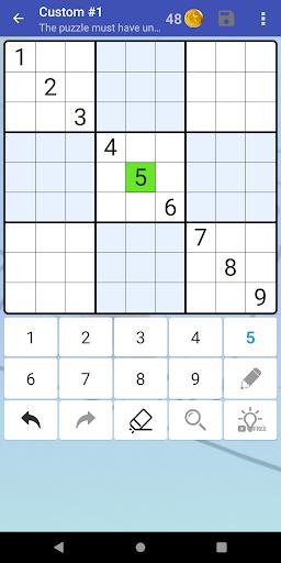 Sudoku Free - Classic Brain Puzzle Game screenshot 4