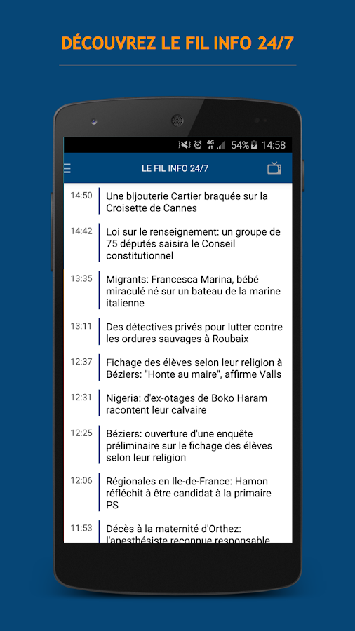 BFMTV : l'info en continu- screenshot