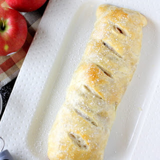 Quick and Easy Apple Strudel.