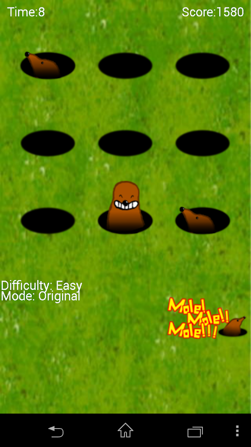 Mole!Mole!!Mole!!!- screenshot