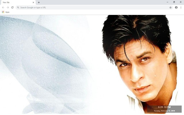 Shahrukh Khan New Tab & Wallpapers Collection