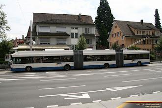 Photo: VBL 233 i Obergrundstrasse, Luzern, 04.07.2010.