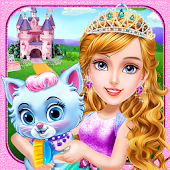 Castle Princess Palace Room Cleanup-Girls Games