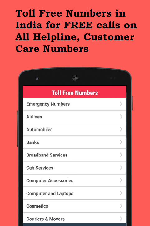 Toll Free Numbers- screenshot