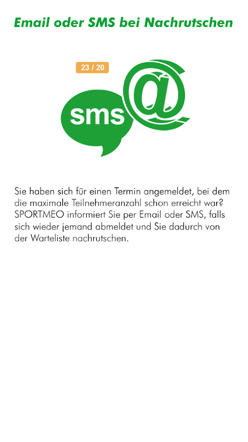 SPORTMEO- screenshot
