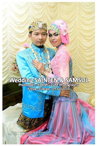 Wedding Sainten Samsul