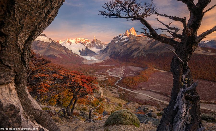 Patagonia awakes by Marco Grassi on 500px