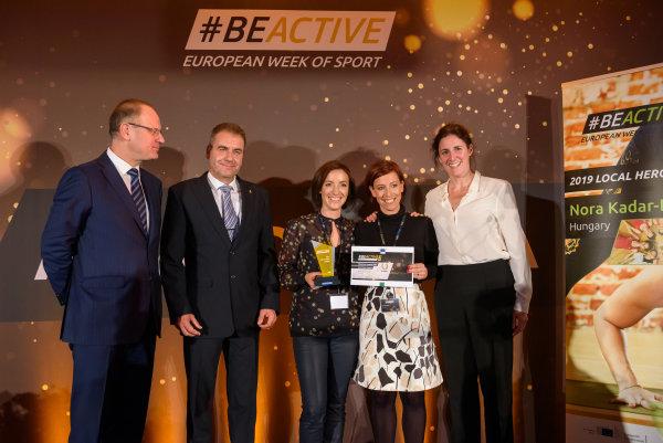 A szakmai zsűri az Európai Sporthéten rangos elismerést adott át három kategóriában.