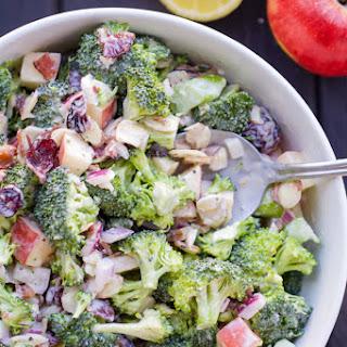 Broccoli Cranberry Almond Salad Recipes