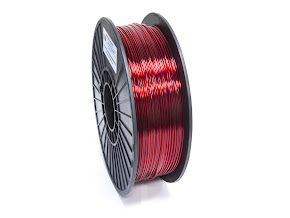 Translucent Red PRO Series PETG Filament - 3.00mm (1lb)