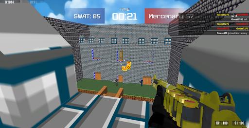 Advanced Blocky Combat SWAT apkpoly screenshots 7