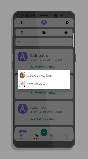 AFonts for SAMSUNG 2.1.2 screenshots 4