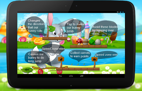 Bunny Dash Skater Adventure screenshot 2