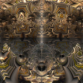 The Intricate Build by Rick Eskridge - Illustration Abstract & Patterns ( abstract, pattern, mb3d, fractal, twisted brush )