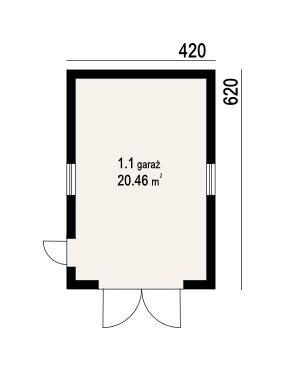 DP-G1-02 - Rzut parteru