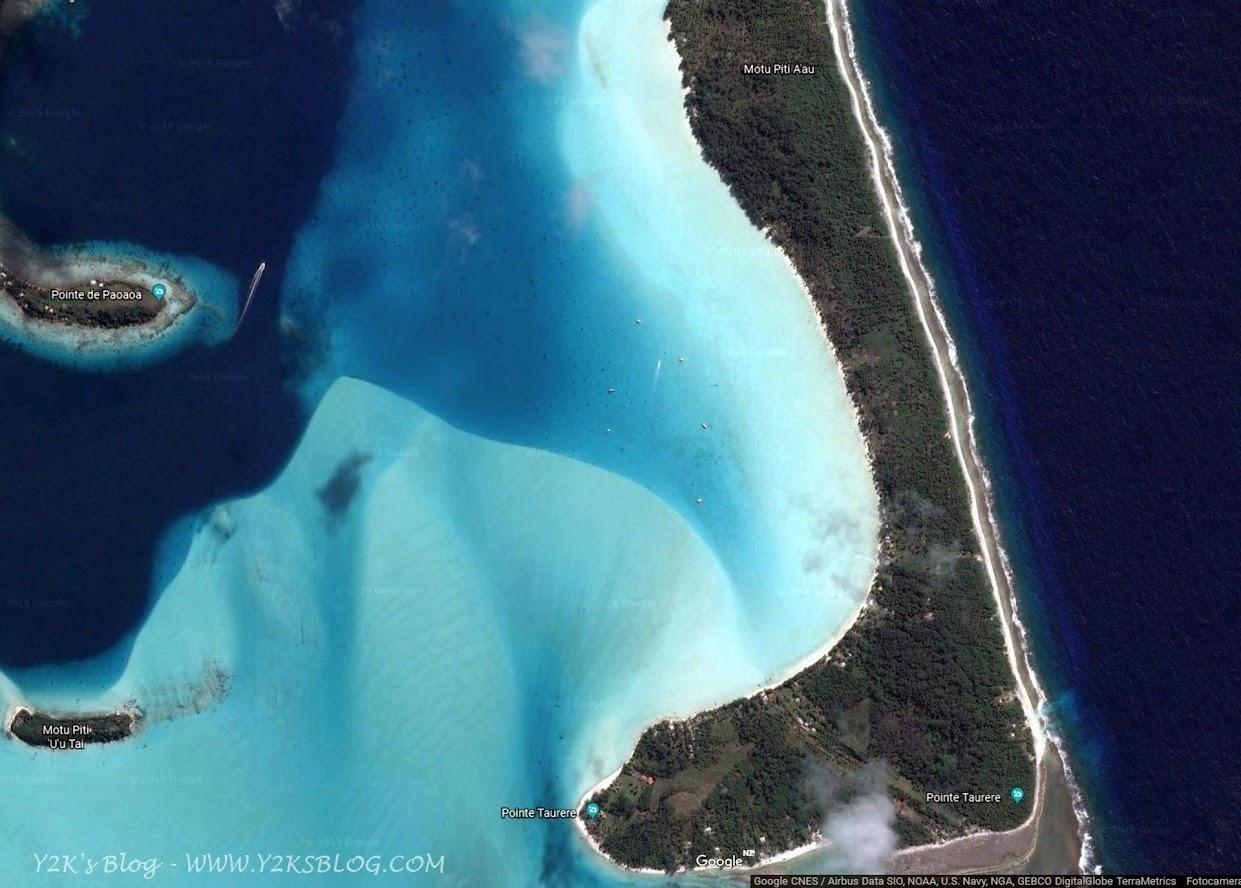 La baia di Sud Est - Bora Bora