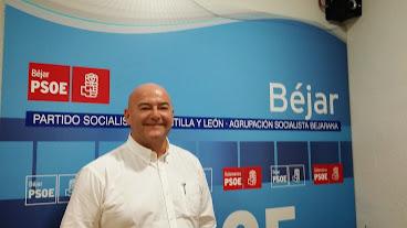 Foto Javier Garrido. Candidato del PSOE a la alcaldía de Béjar