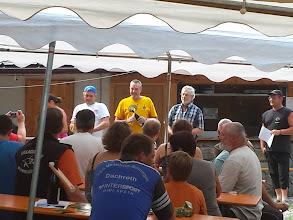 Photo: Siegerehrung - 3 Bogenschützen mit einem FRITZBOGEN auf den ersten Plätzen bei den Langbogen-Senioren
