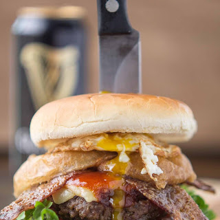 Irish Car Bomb Burger
