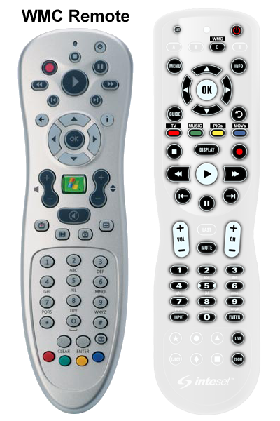Remotes for Apple TV - Xbox One - Roku - Windows Media Center