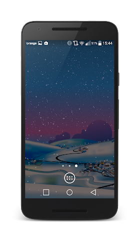 android Winter Live Wallpaper Screenshot 2