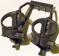 Photo: dvieju gertuviu laikiklis tvirtinamas prie balno galo - 45 lt
