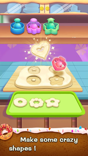 ud83cudf69ud83cudf69Make Donut - Interesting Cooking Game apkpoly screenshots 3