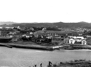 Photo: Moureira de Abaixo. Enriba a Praza de Touros. Despois da primeira gran reforma en 1910